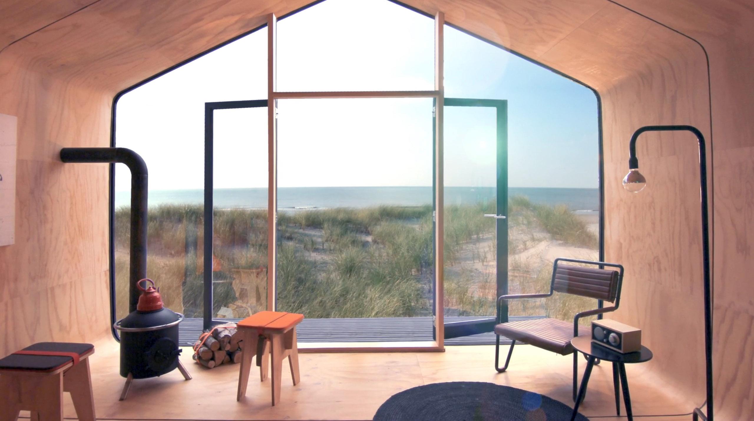 Ein solches Haus am Strand. Hach. (Foto: Wikkelhouse)