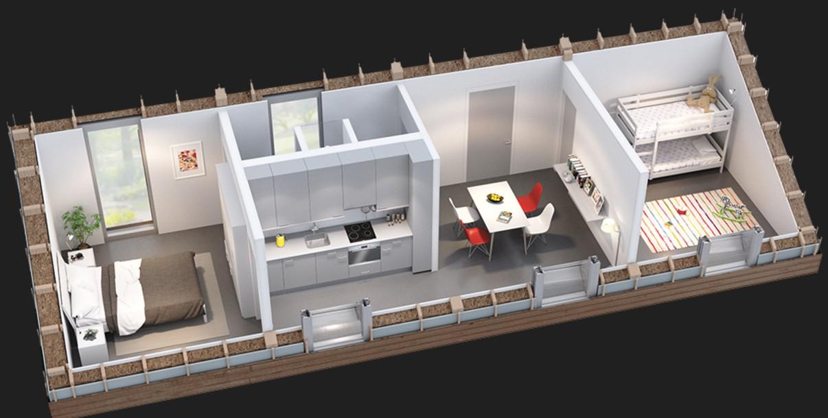 aktivhaus mit nachhaltigen geb uden gegen die wohnungsnot. Black Bedroom Furniture Sets. Home Design Ideas
