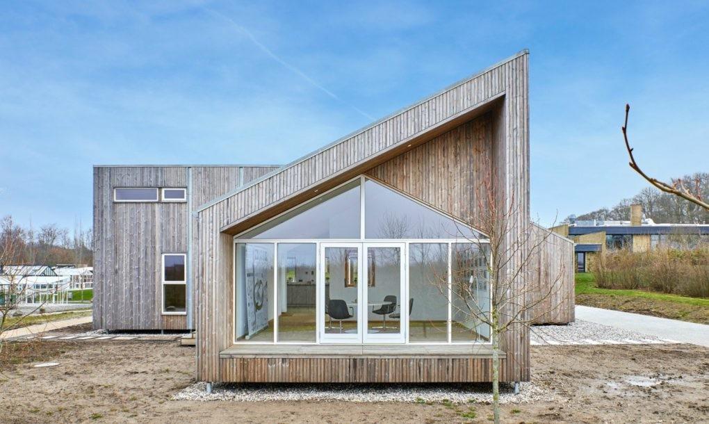So sieht das biologische Haus aus. Modern und ansprechend. (Foto: Een til Een)