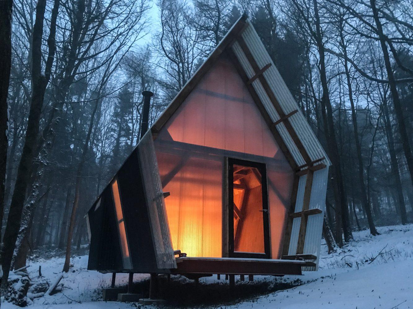 Trailer ist ein schönes Tiny House. (Foto: Invisible Studio)