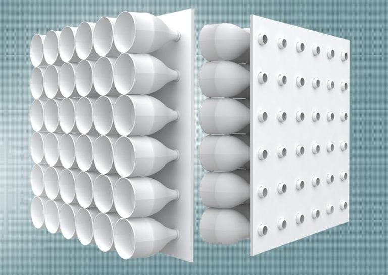 So funktioniert der Eco-Cooler. Nutzt dafür ganz normale Plastikflaschen. (Foto: Eco-Cooler)