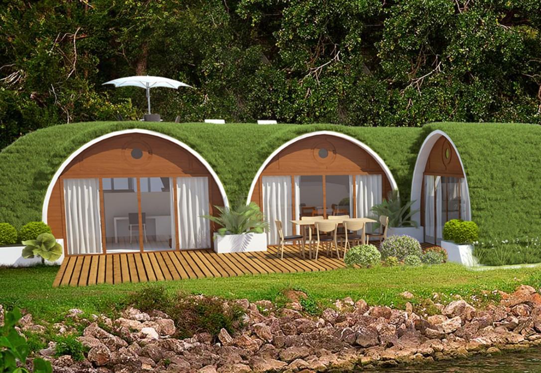 Hier wohnen Hobbits? Nein! (Foto: Green Magic Homes)