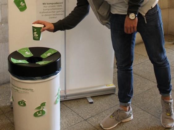 Gesonderte Mülleimer sind nötig. (Foto: Grow Pauli)