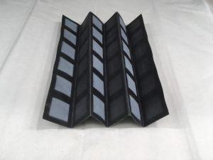 Ein Beispiel für die Origami Batterie. (Foto: Binghamton University)