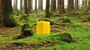 Die Urne gibt es als fröhliches Sun-Modell. (Foto: Von Welt)