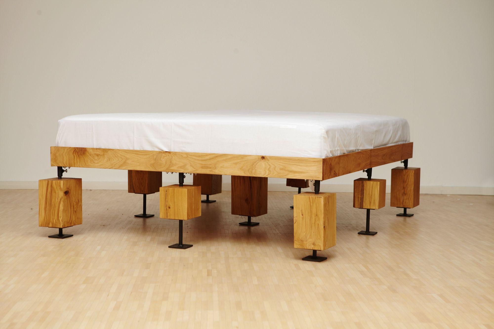 Ein interessantes Bett... (Foto: Verschnitt)