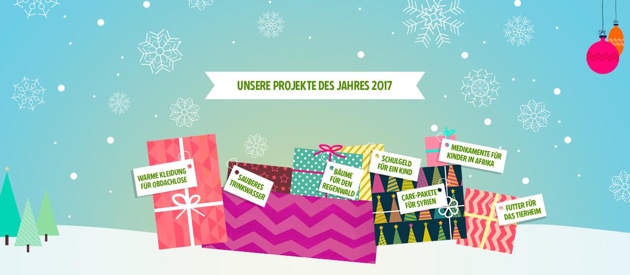 Eine schöne Geschenkidee 2017. (Foto: Betterplace.org)