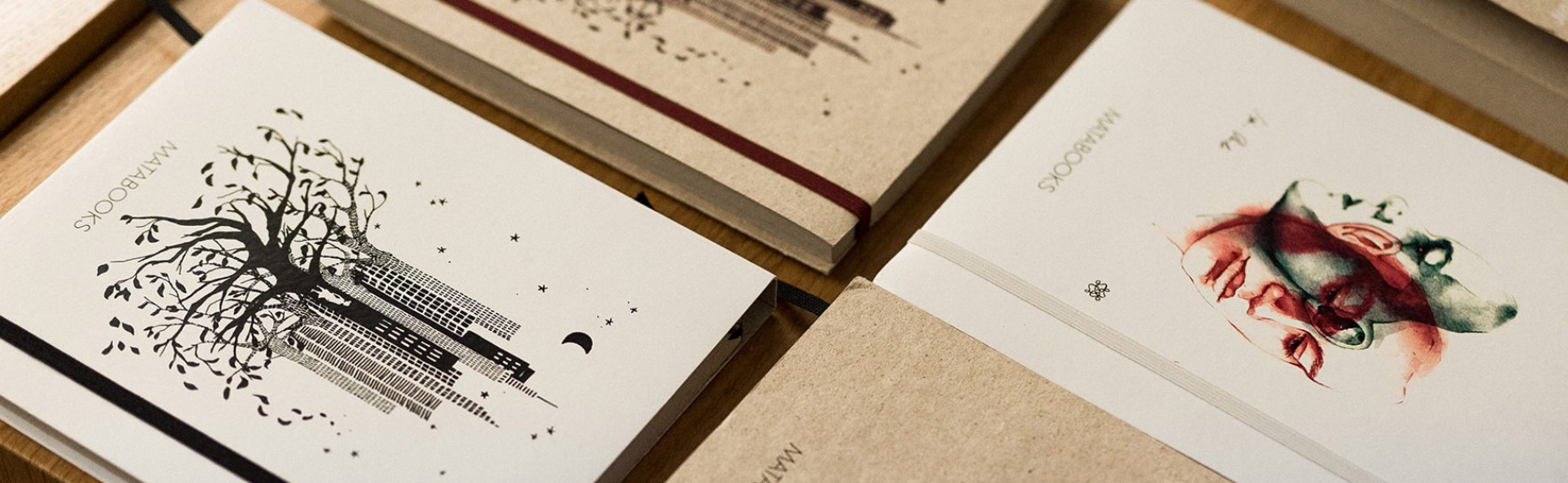 Bei Matabooks wird auf Holz komplett verzichtet. (Foto: Matabooks)