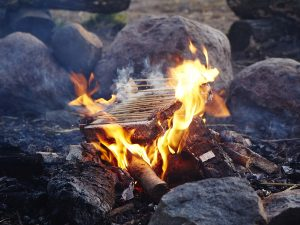 Wenn er nicht mehr gebraucht wird, kann er verbrannt werden. (Foto: CasusGrill)