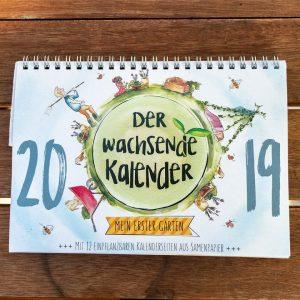 2019 soll es losgehen mit den ersten Varianten des Kalenders. (Foto: Der Wachsende Kalender)