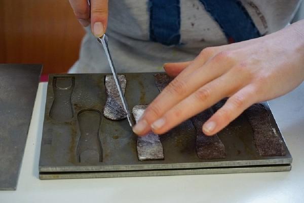 Die ersten Löffel wurden handgefertigt. (Foto: Spoontainable)