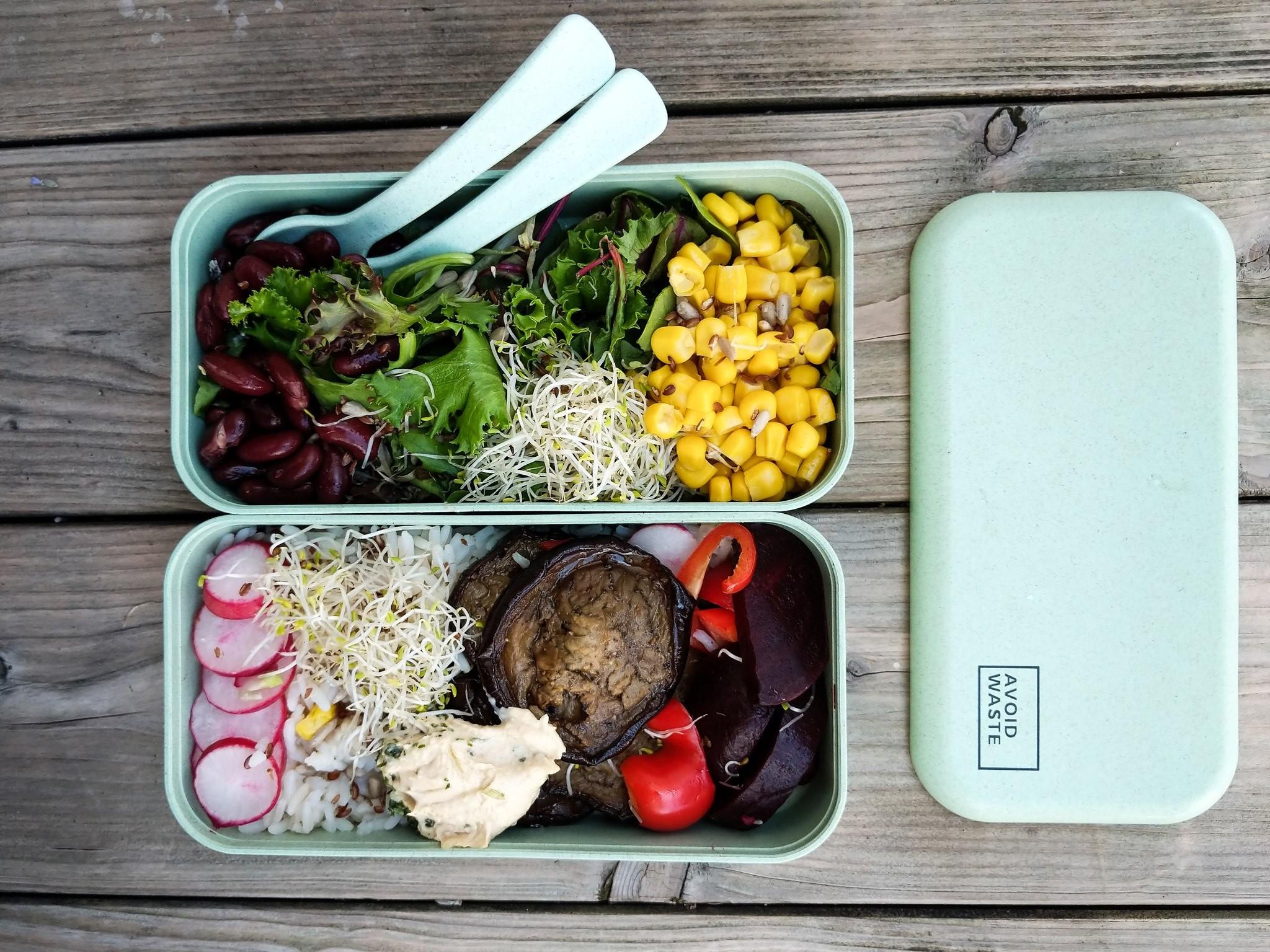 Guten Appetit. Mit dieser nachhaltigen Bentobox. (Foto: Avoid Waste)