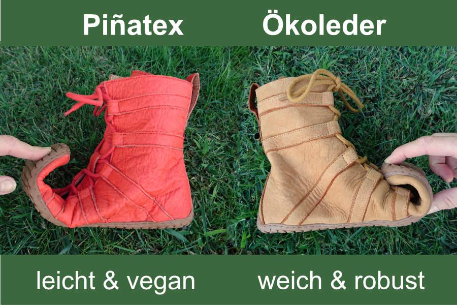 Leder oder Pinatex - Käufer haben die Wahl. (Foto: Aehrenkranz)