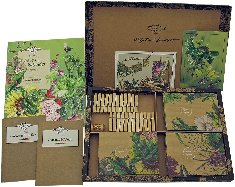 Der Bio-Saatgut-Adventskalender sieht auch sehr attraktiv aus. (Foto: Magic Garden Seeds)