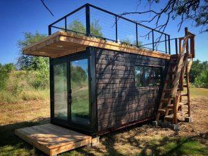 Schöne Idee - Terasse auf dem Dach. (Foto: CargoHome)