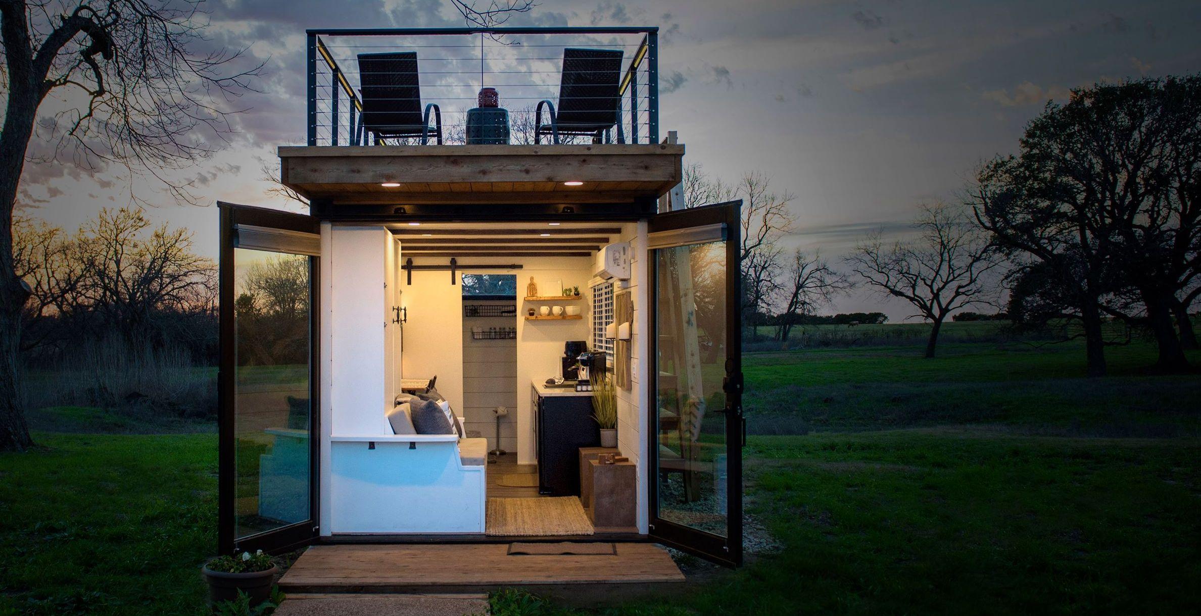 Hui. Dieses Tiny House aus einem Container sieht gemütlich aus. (Foto: CargoHome)