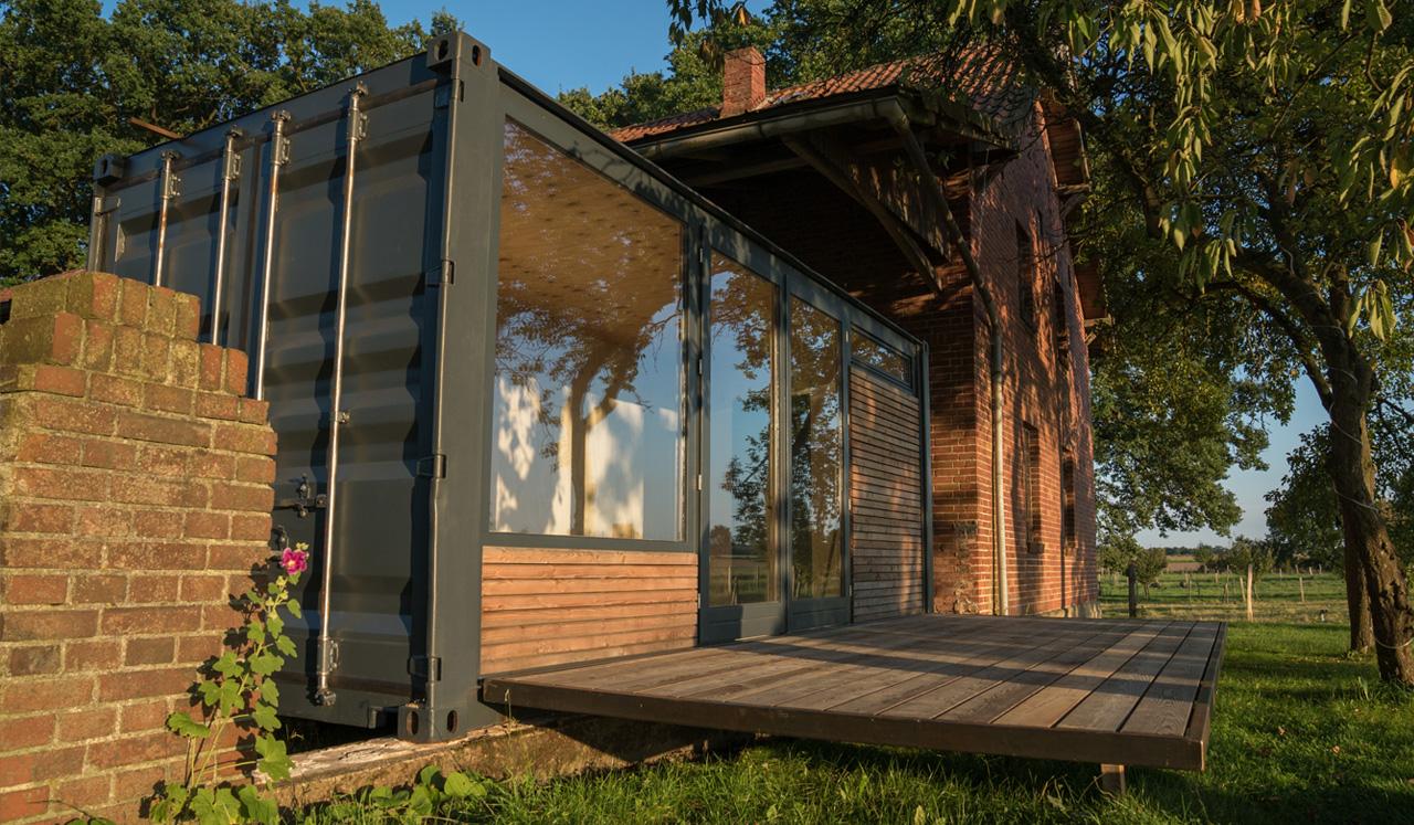 Eine Idee aus Deutschland: Sisu Containers von zwei Tüftlern. (Foto: Sisu Containers)