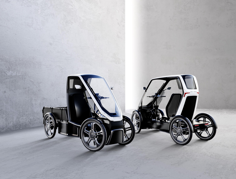 Ja, das sind Fahrräder! (Foto: Schaeffler Bio-Hybrid)