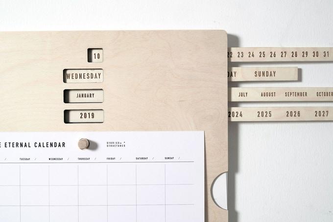Ein Kalender für die Ewigkeit? (Foto: Stories in Structures)