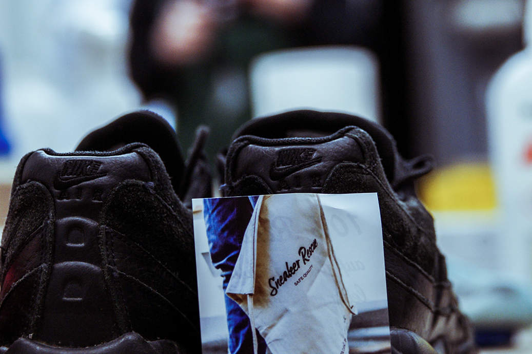 Würdet ihr eure Sneakers auch reparieren lassen? (Foto: Sneaker Rescue)