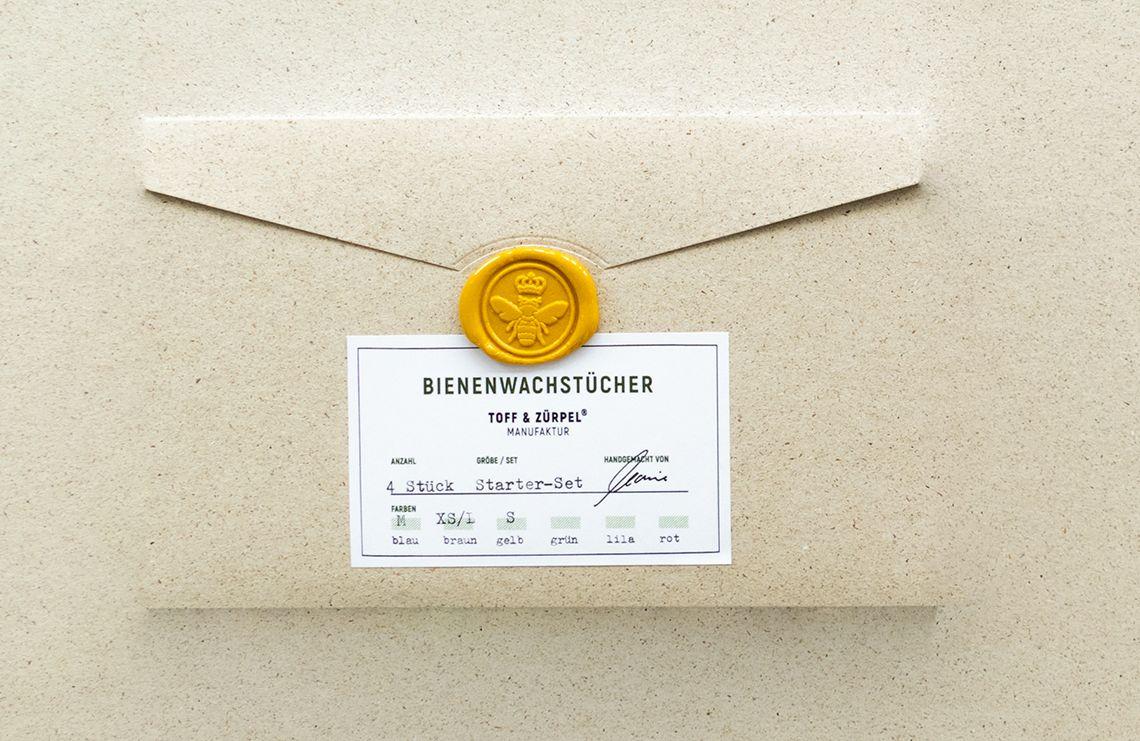 Hübsch sind die Verpackungen auch. (Foto: Toff & Zürpel)