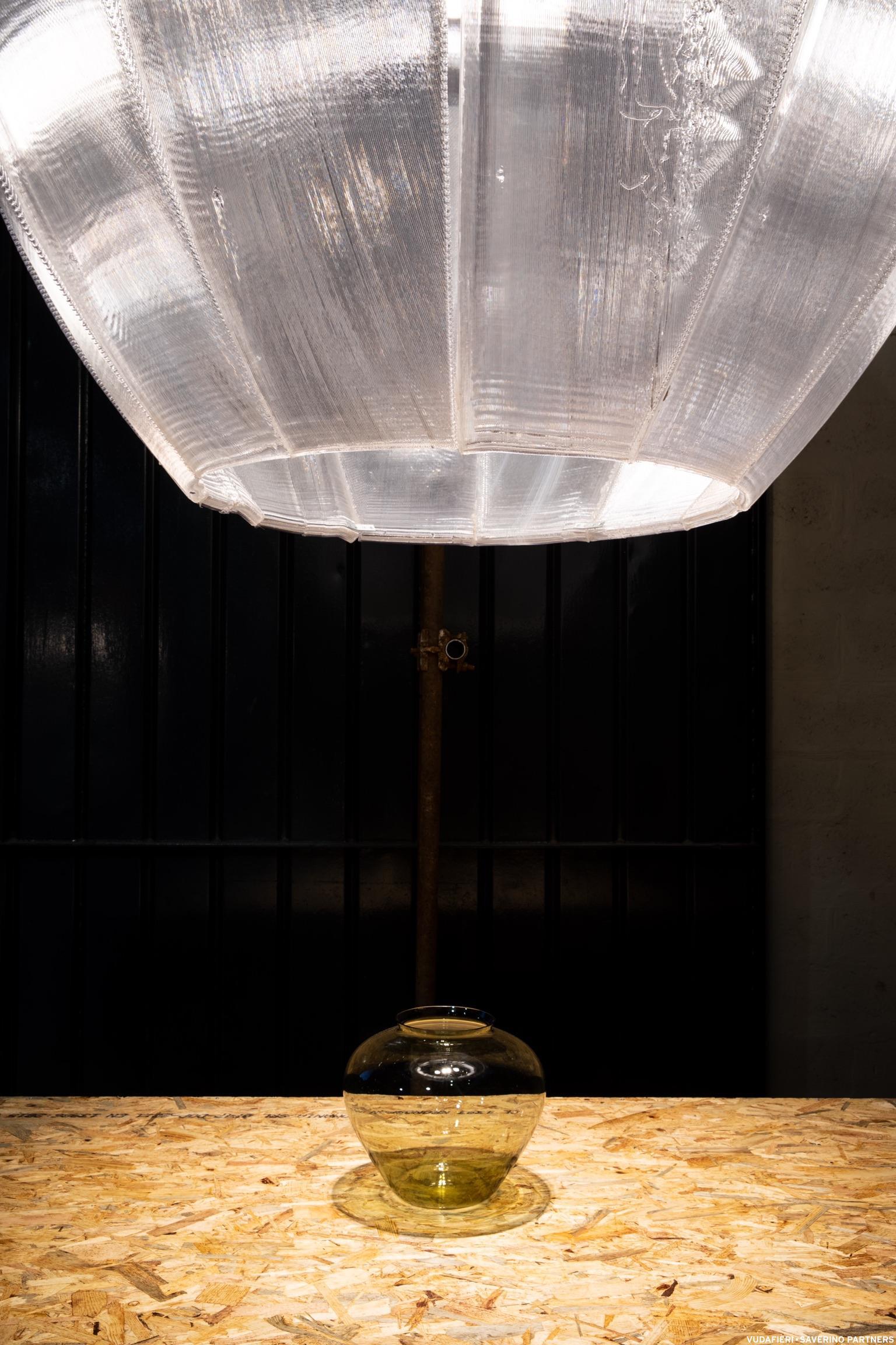 Keine Frage - diese Wilhelm Lamp braucht große Räume. (Foto: Tiziano Vudafieri)