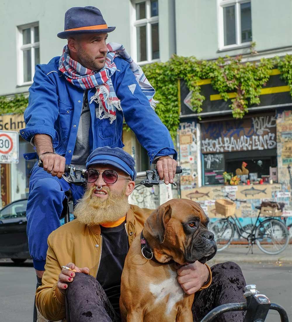 Lifestyle trifft auf Blaumann. (Foto: ReHats)
