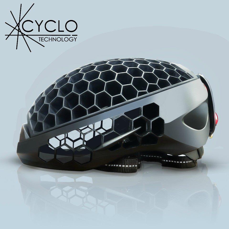 Das ist der Helm Cyclo. (Foto: Cyclo Technology)