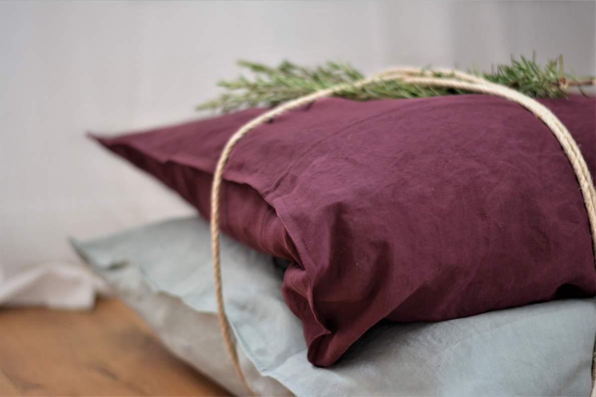 Bettwäsche aus Hanf. Und auch noch nachhaltig. (Foto: Kapua)