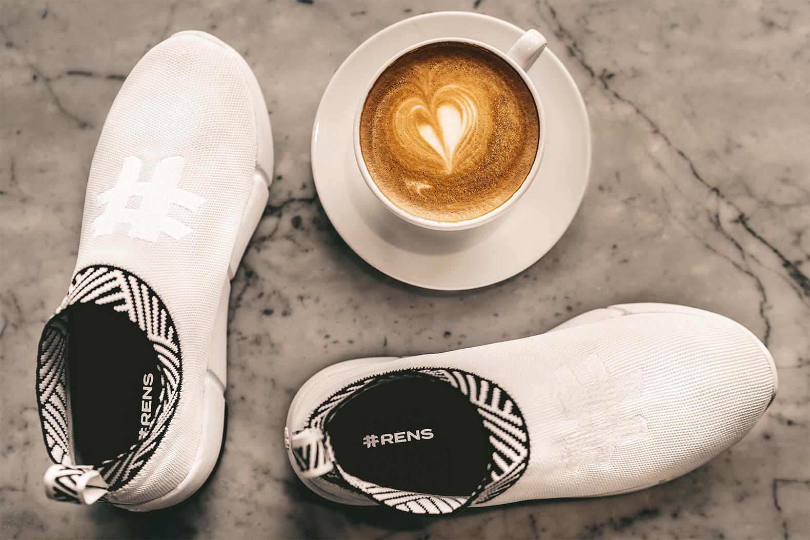 Sneakers aus Kaffee? Das geht! (Foto: Rens)