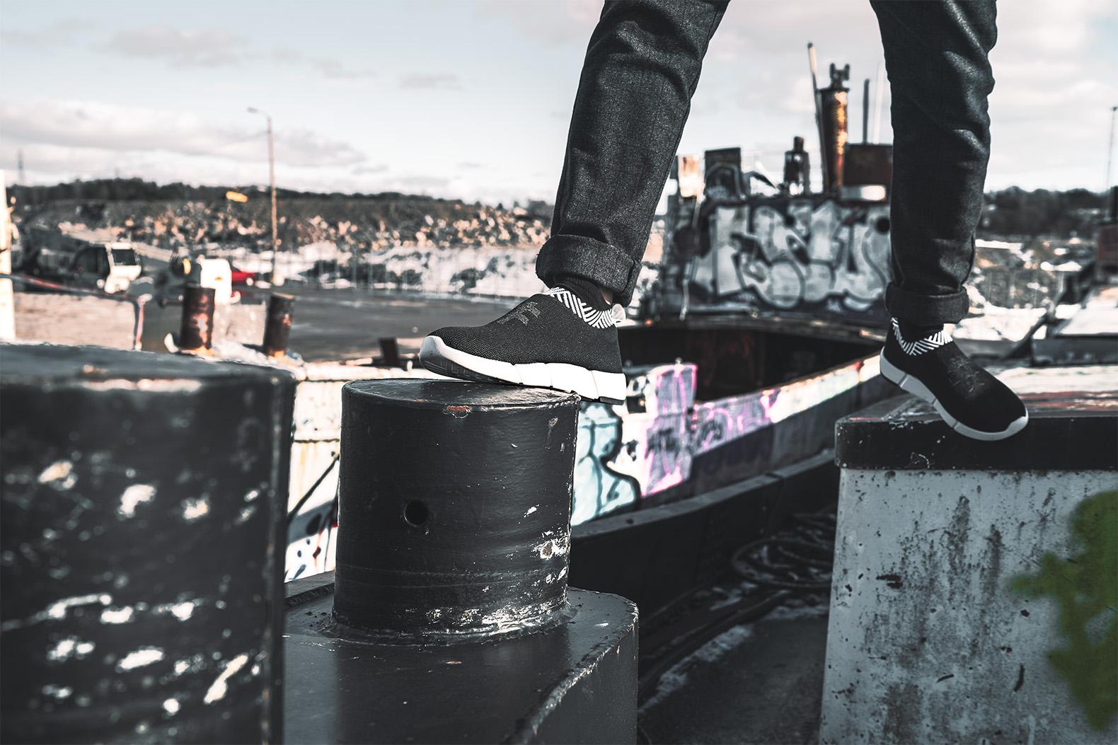 Kaum zu glauben, dass die Schuhe zu großen Teilen aus Kaffee sind... (Foto: Rens)