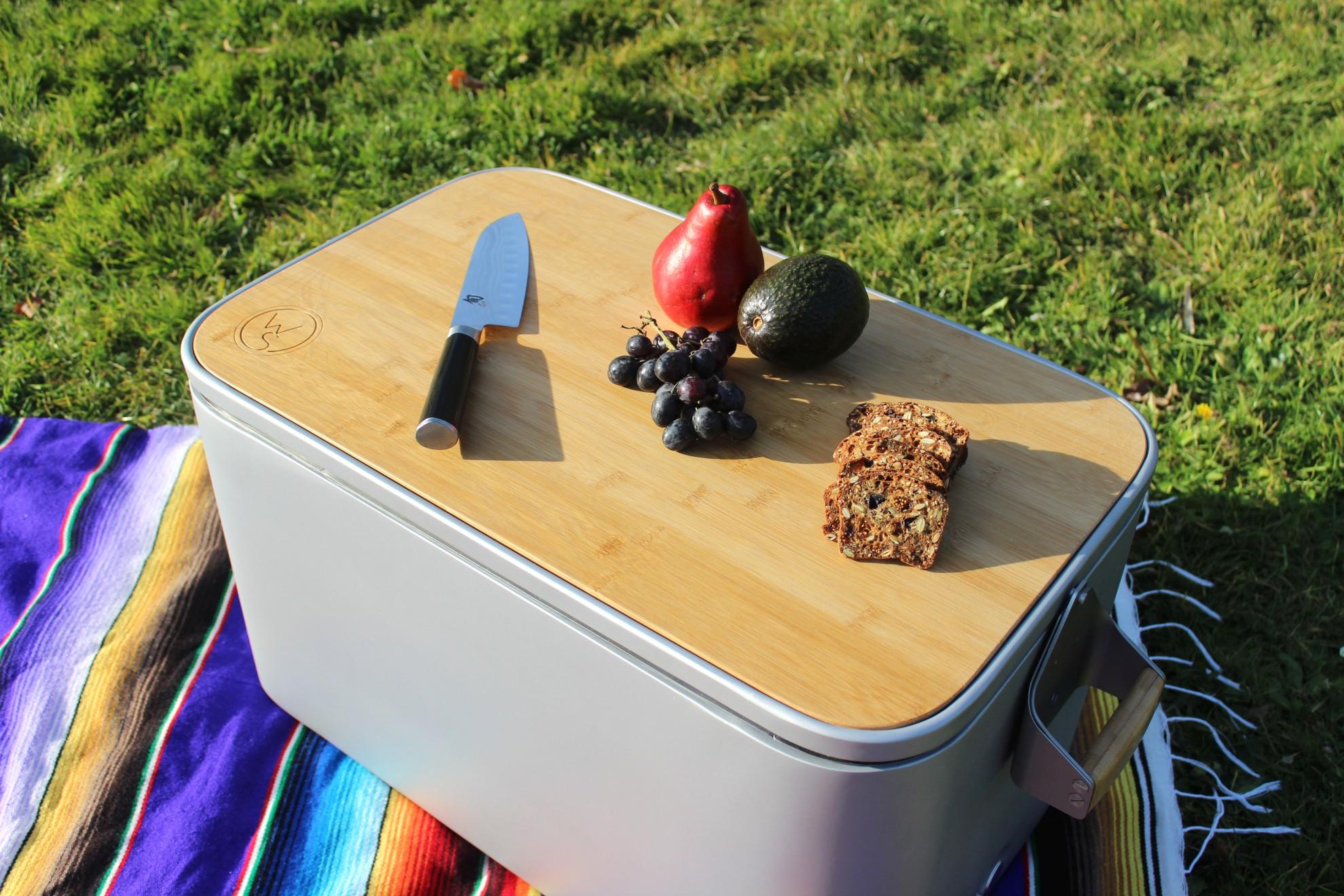 Die Kühltruhe ist umweltfreundlicher als herkömmliche Modelle. (Foto: Wool Street)