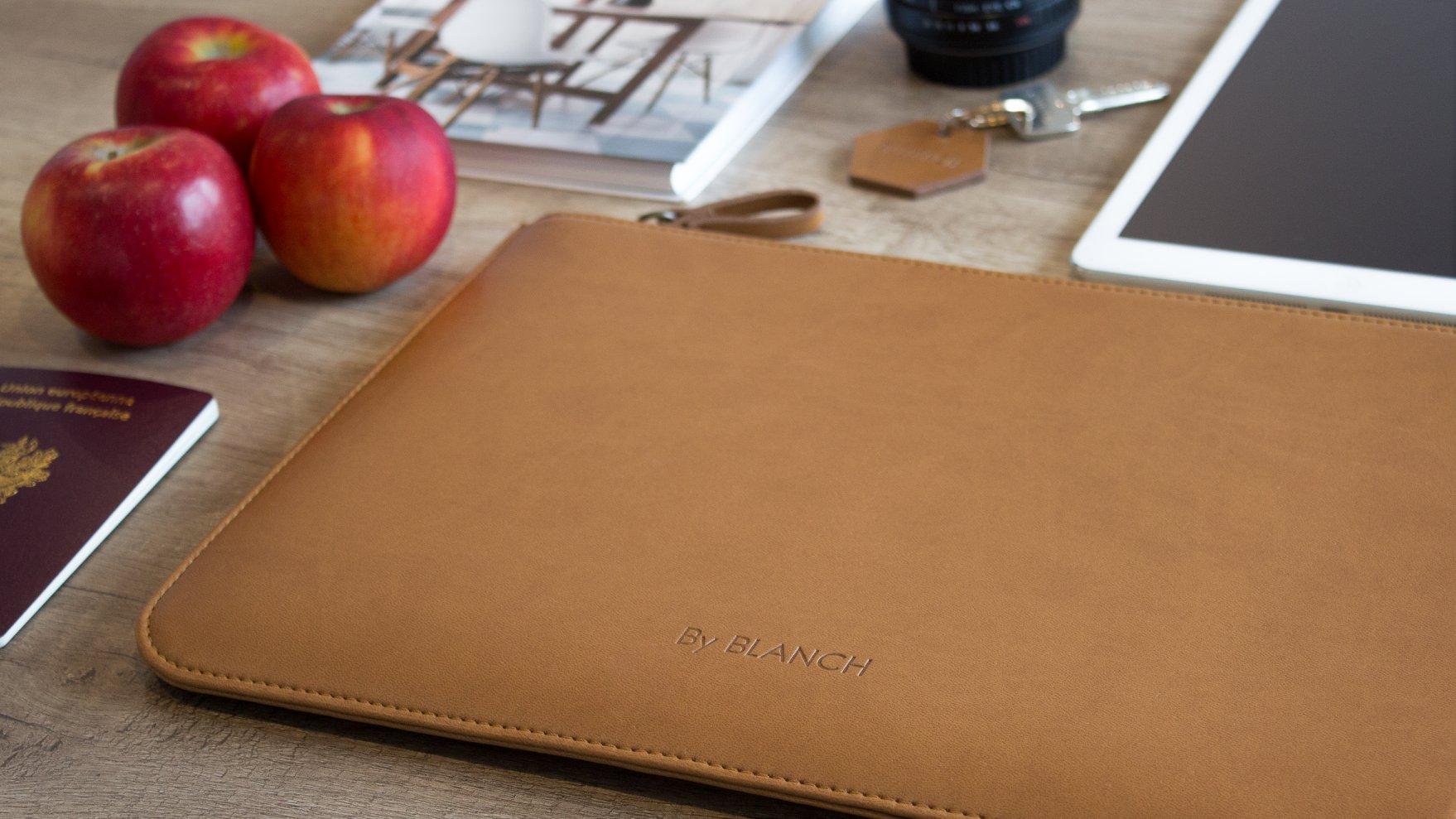 Das ist kein Leder, sondern eine Laptop-Tasche aus Äpfeln. (Foto: By Blanch)