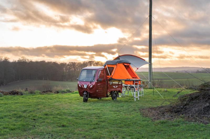 Ein kleiner Camper für wenig Geld. (Foto: Elektrofrosch)