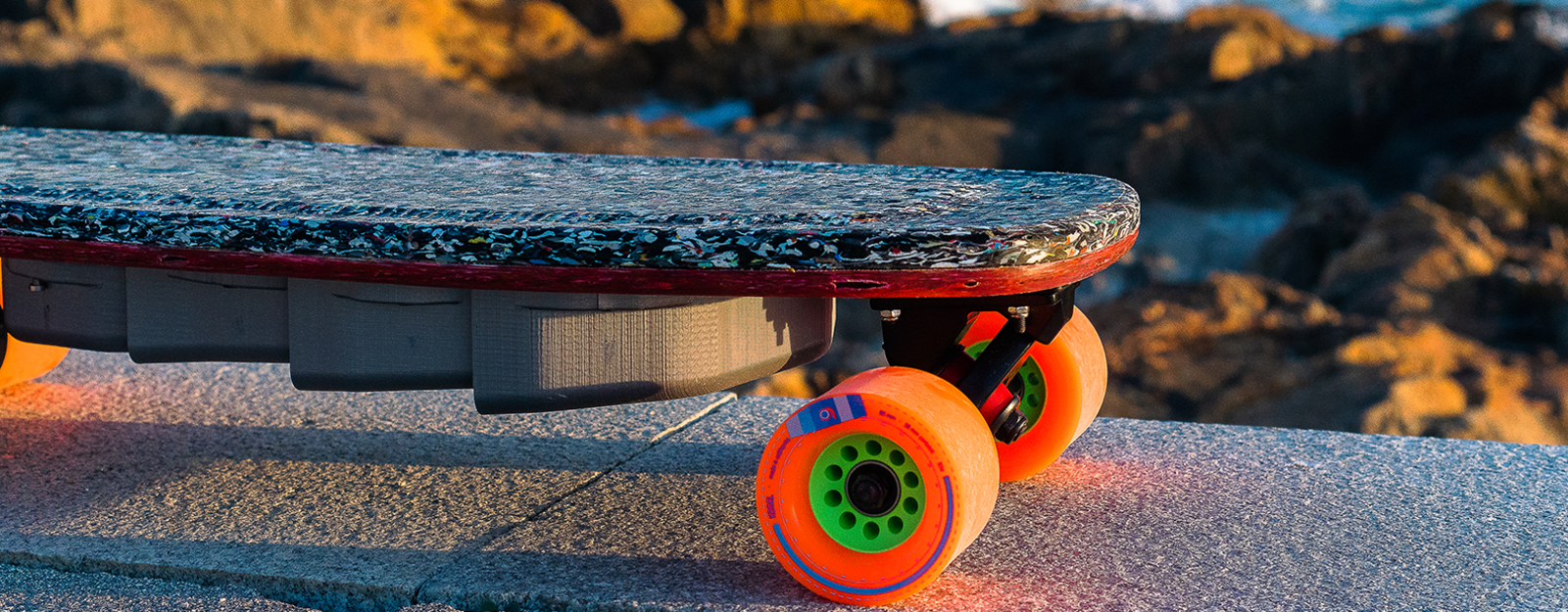 Das DIY-Elektro-Skateboard könnt ihr selber bauen. (Foto: João Leão)
