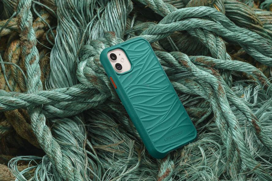 Aus Fischernetzen werden nachhaltige Smartphone-Hüllen. (Foto: LifeProof)