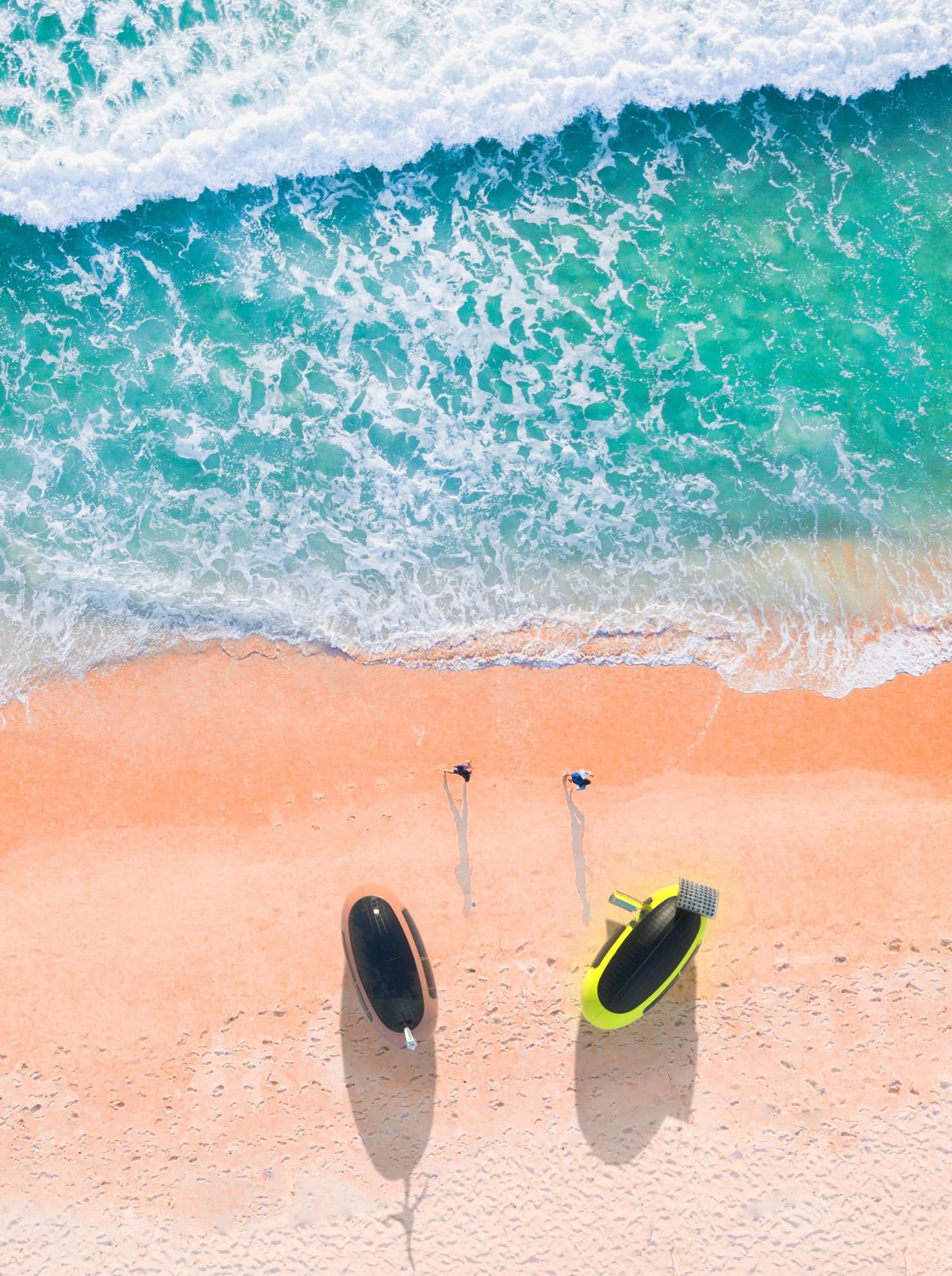 Hier mal Urlaub machen... (Foto: Ecocapsule)