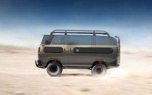 Der eBussy ist dank Allrad-Antrieb auch gut fürs Gelände geeignet. (Foto: ElectricBrands)