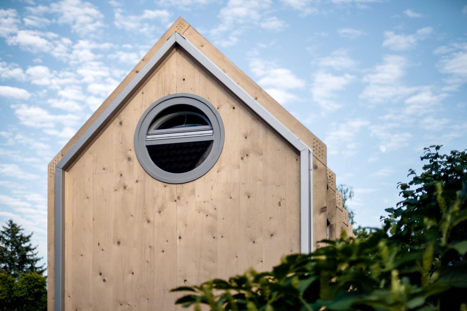 Ihr könnt die Kabinka selbst aufbauen. (Foto: Hello Wood)