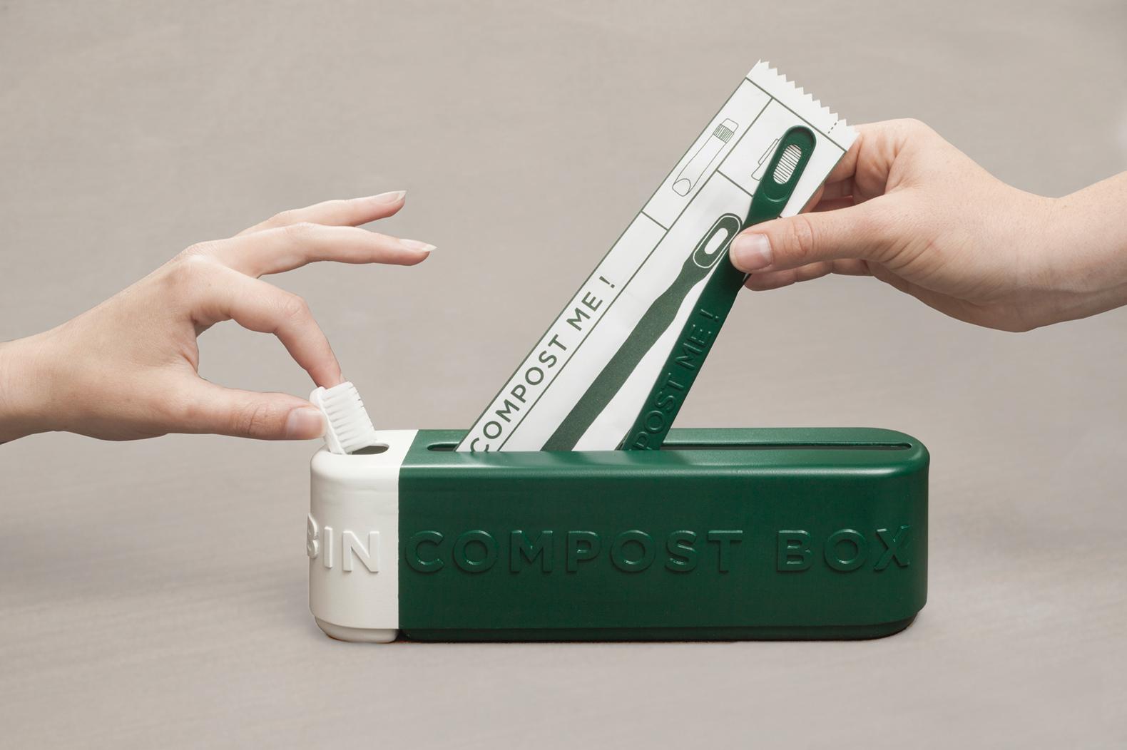 Einwegprodukte selbst entsorgen - die Green Box erklärt auch Zusammenhänge. (Foto: OnMateria)