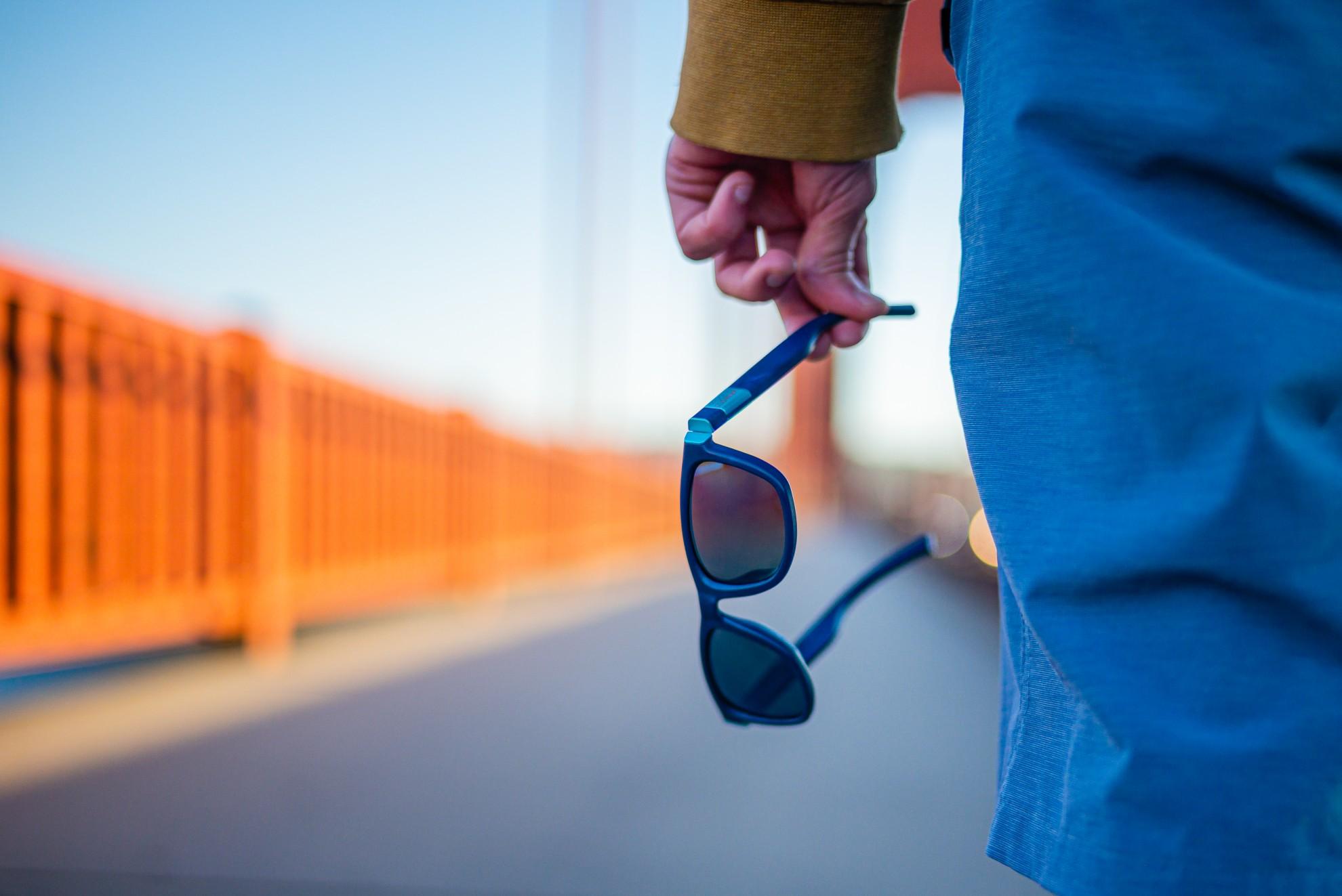 Eine ganz besondere Brille. (Foto: The Ocean Cleanup)