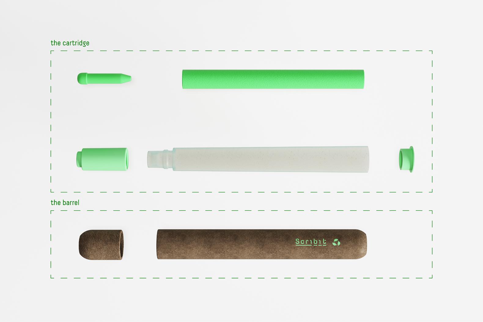 So ist der Scribit Pen aufgebaut. (Foto: CRA-Carlo Ratti Associati)